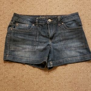 Faded Glory denim shorts, size 12